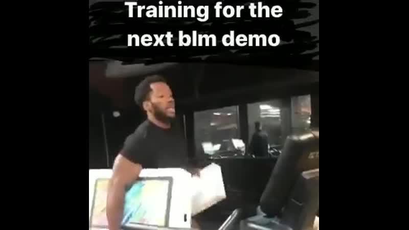Тренировка активистов BLM