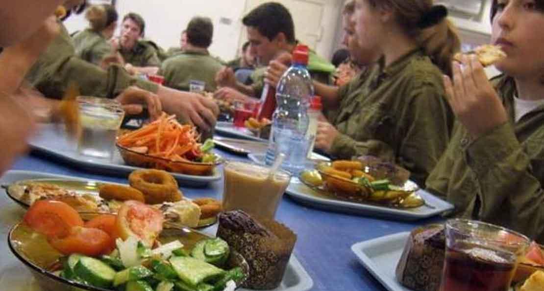 Обед в армии Израиля
