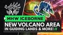 Monster Hunter World Iceborne | New Guiding Lands VOLCANIC Area Rajang Update Details