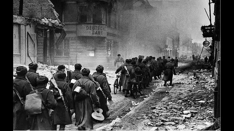 Вторая мировая война Великая Отечественная 1944 45 годы на карте