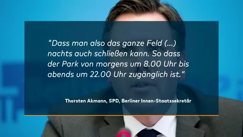 KAMPF GEGEN DEALER Senat plant den Görlitzer Park in der Nac