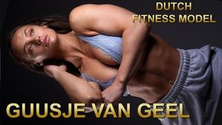 Guusje van Geel perfect athletic girl 💪  Dutch Fitness Model 🇳🇱