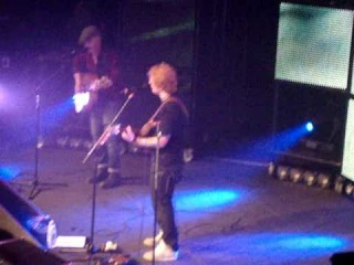 Ed Sheeran and Foy Vance - Kiss me, Rams head live 1/29