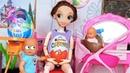 КИНДЕР СЮРПРИЗЫ И ПОКУПКИ ДЛЯ МАЛЫША БЕРЕМЕННОЙ МАМЫ КАТЯ И МАКС ВЕСЕЛАЯ СЕМЕЙКА Барби куклы мультик