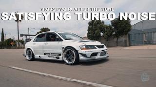 Mitsubishi EVO IX [Satisfying Turbo Noise]