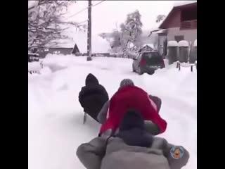 Вот это я понимаю зима!!