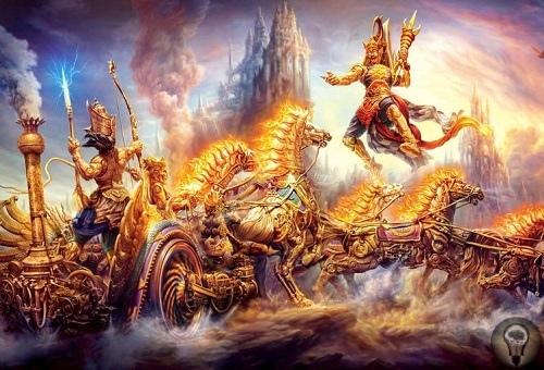 Битва за Землю: космический подтекст Махабхараты Махабхарате древний эпос, который включает в себя «Бхагават Гиту». Многие даже читали этот литературный памятник, как интересный древний миф,