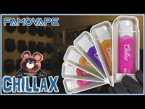Famovape CHILLAX миксология нового уровня