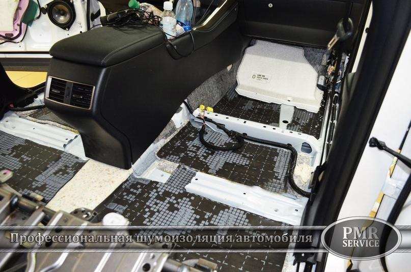 Комплексная шумоизоляция Lexus NX 200, изображение №5