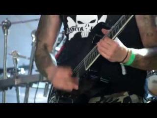 "Impaled Nazarene - ""Armageddon Death Squad"" (live Hellfest 2014)"