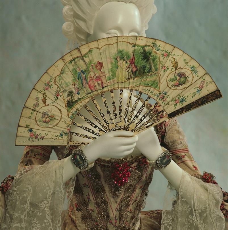 Веер, 1760, Нидерланды. The Kioto Costume Institute.