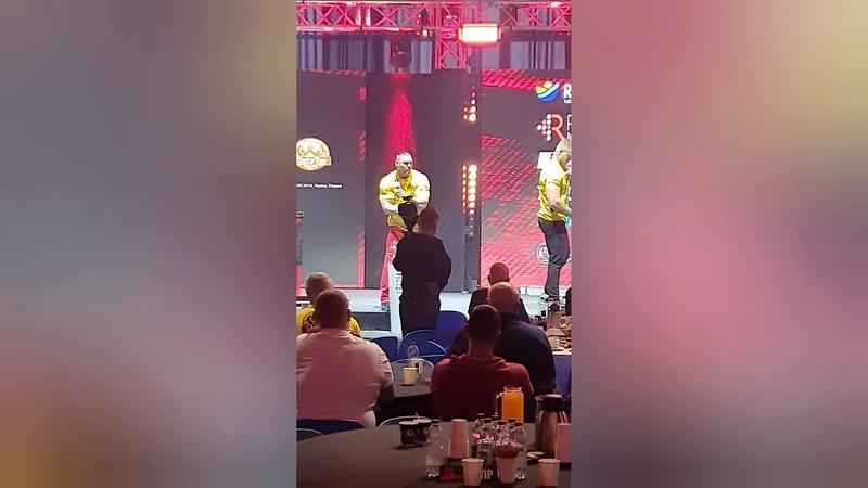 Puchar Świata Złoty Tur Rumia 2019 105kg left hand lewą reka