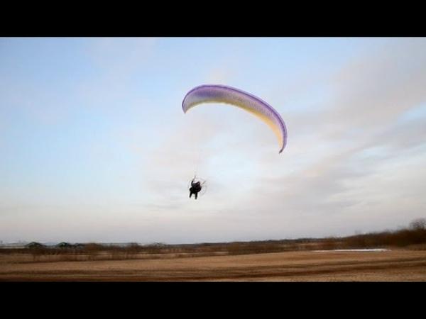 Полеты на мотопараплане Зорро 2 26 Старая ладога весна 2015г