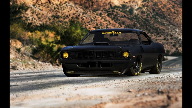 Need for Speed Carbon Plymouth Hemi Cuda Barracuda White Demon Tuning Sprint