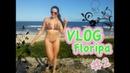 Praias de Jurerê e Moçambique - Florianópolis SC - VLOG FÉRIAS 2
