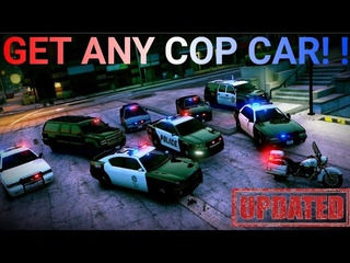 How To Get All Police Cars In GTA 5 Online And Fix Them!   ( Updated )
