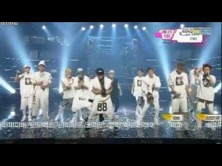 130614 Music Bank EXO - Wolf+Win+Encore #EXO1stWin