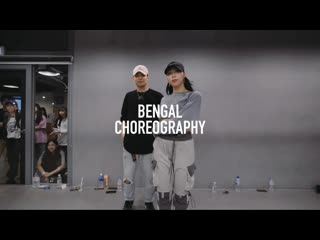 1million dance studio boy with luv - bts ft. halsey / bengal choreography