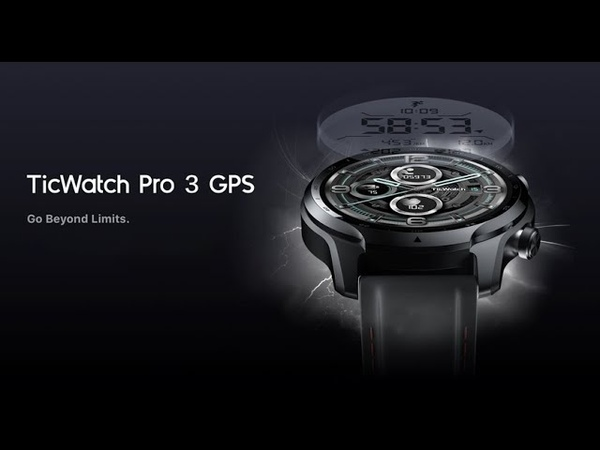 TicWatch Pro 3 - Первые смарт-часы на Snapdragon Wear 4100 🔥🔥🔥