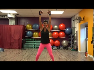 Yvette Bachman - 30 MINUTES OF FAT BLASTING CARDIO KICKBOXING | Кикбоксинг-кардио умеренной сложности и интенсивности