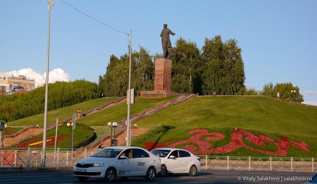 Вахитовский холм, Казань 2020