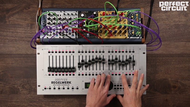 Instruo Ts-L And Tona Oscillators With Doepfer Regelwerk Sequencing
