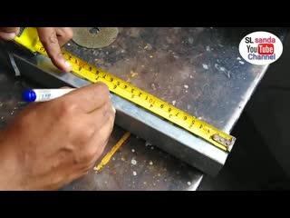 Как правильно согнуть профильную трубу на 90 градусов