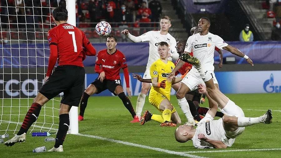 Ренн - Краснодар, 1:1. Лига Чемпионов