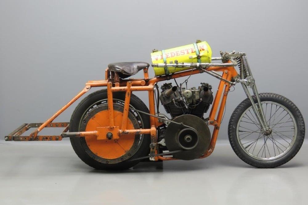 Старинный мотоцикл Meyer-BAC 1935