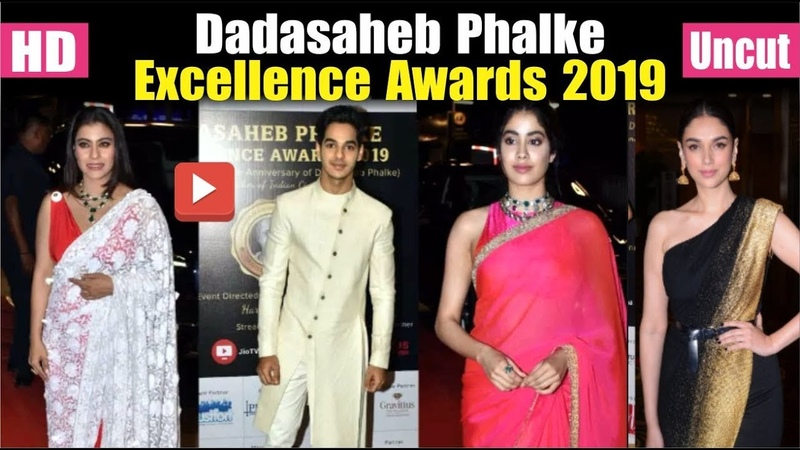 Bollywood Stars At Dadasaheb Phalke Excellence Awards 2019 | Janhvi Kapoor