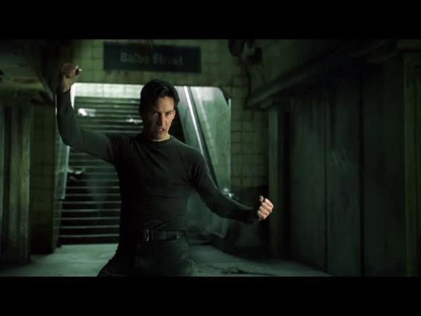 Neo vs Agent Smith The Matrix Open Matte