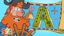 Alphabet Adventure on A Island Captain Seasalt And The ABC Pirates Educational Cartoon