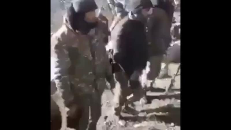 Чип чип чючялярим в исполнении армянских пленников