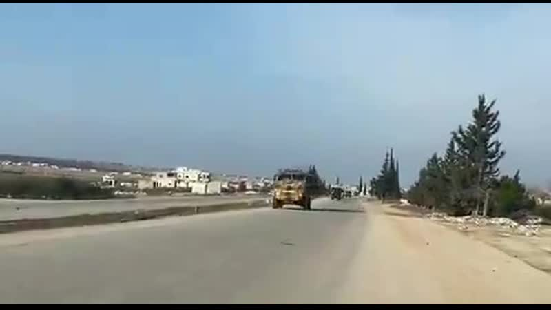 Видео от военкора Олега Блохина - из Морека в Алеппо по трассе М5
