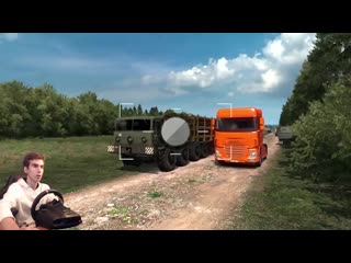 ПАСХАЛКА НА КАРТЕ УКРАИНЫ - Euro Truck Simulator 2 - Ukrainian Map 2.0