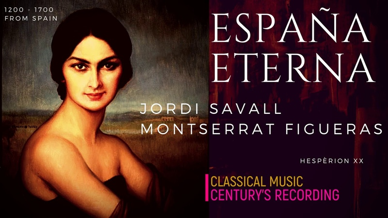 Spanish Traditional Music Folías de España 1200 1700 Cent record Jordi Savall Hespèrion XX