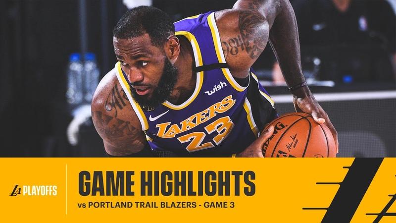 HIGHLIGHTS LeBron James 38 pts 12 reb 8 ast vs Portland Trail Blazers